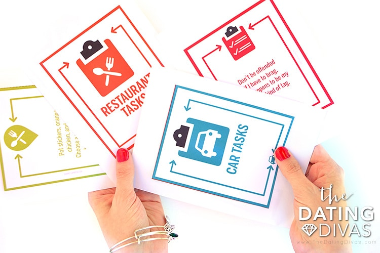 Put date options in fun envelopes for a new date night!