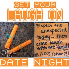 Get your laugh on comedy date night!