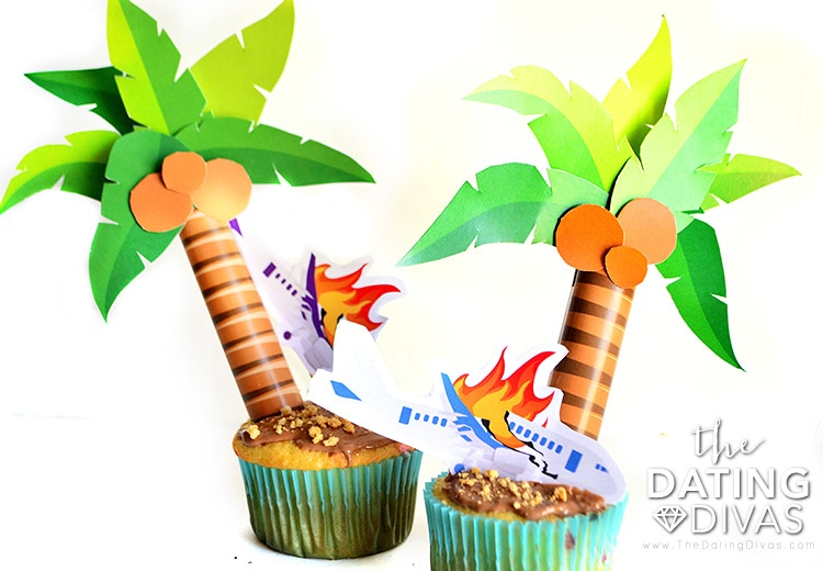 Lost themed cupcakes