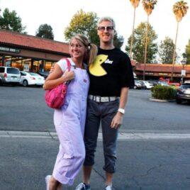 Pac-man themed date night.