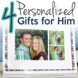 Personalized gifts for him!