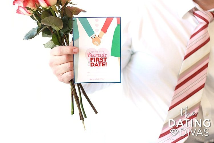 Recreate Your First Date with your Spouse Invite