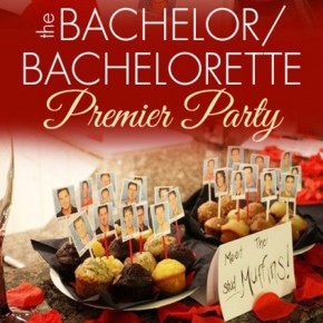 Bachelor/Bachelorette Premier party ideas