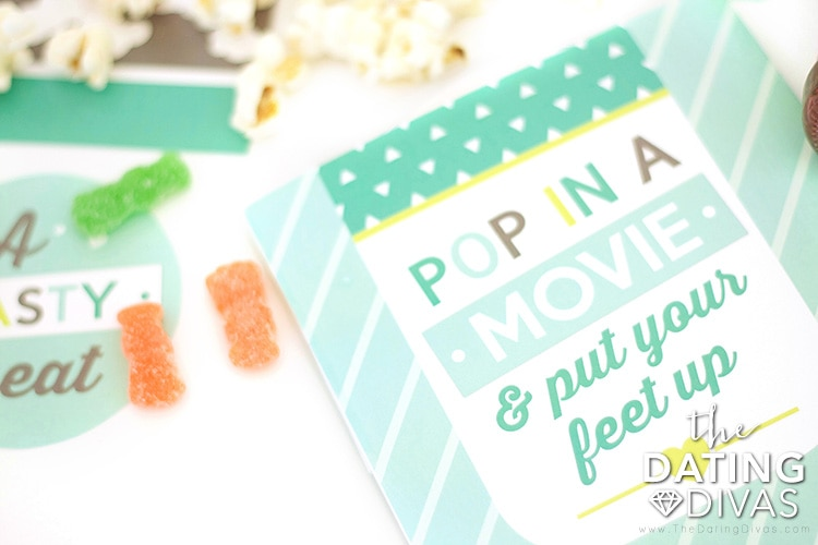 Pop in a movie and put your feet up!