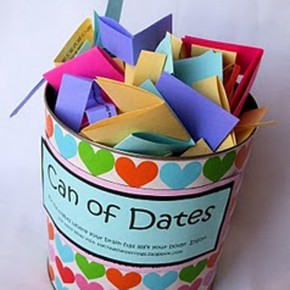 Can O' Dates - a create wedding gift!
