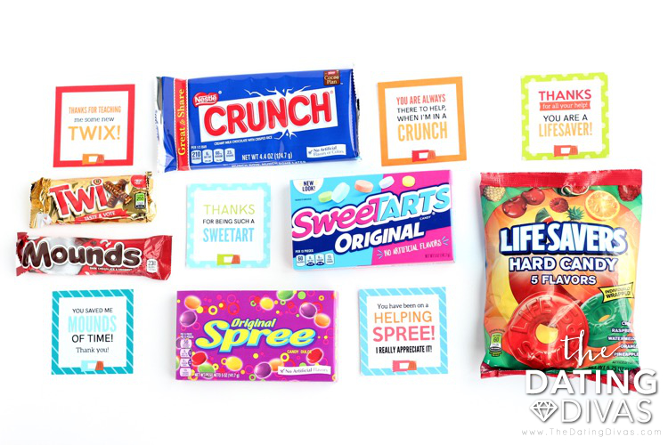 Candy Bar Sayings for Kids to Say Thank You