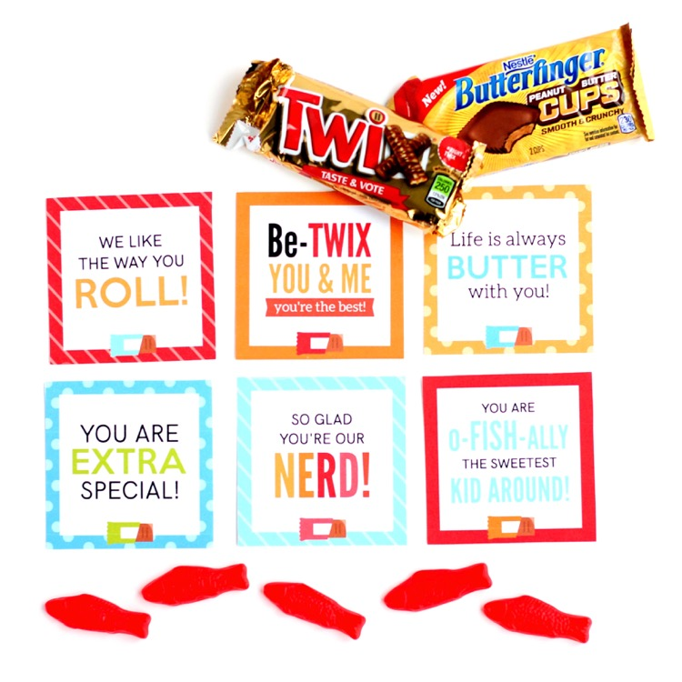 Candy Bar Sayings for Kids - From The Dating Divas