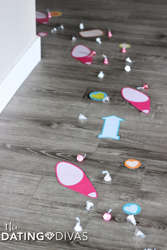 Printable Footprints Trail