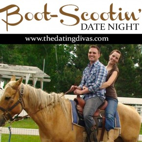 "Try this darling ""She's All Country"" Boot Scootin' date night idea."
