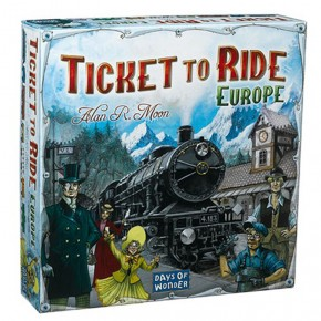 Ticket to Ride: Game Night for two!