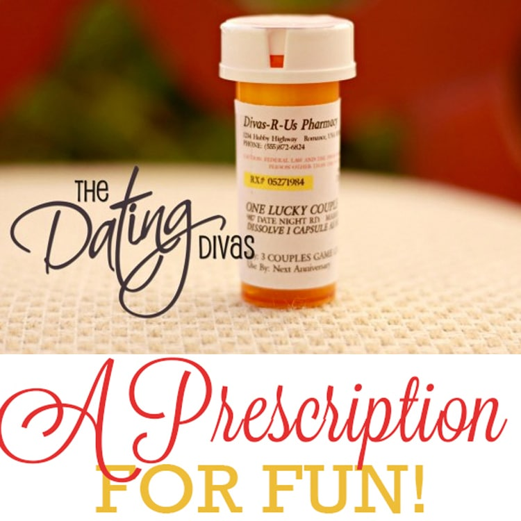 Prescription for Fun - A Free Printable Romance Idea