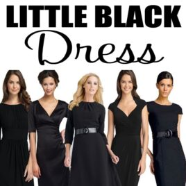 The little black dress is sure to impress... your hubby!