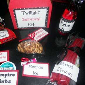 "A ""Twilight"" survival kit for the perfect movie date!"