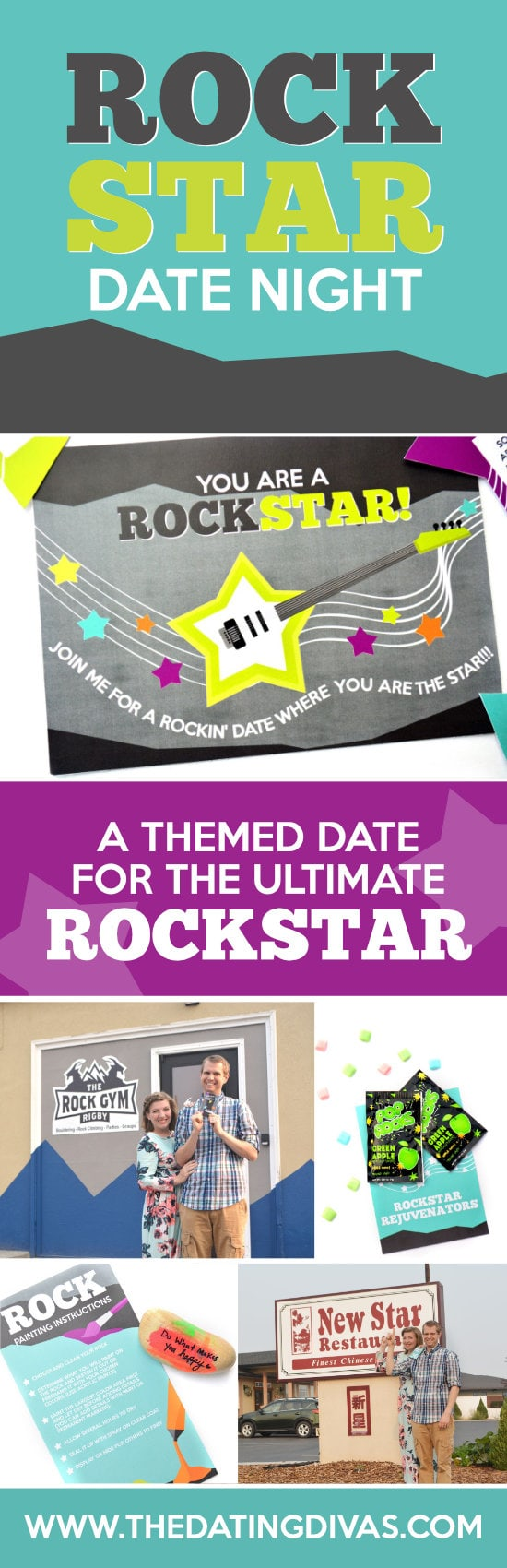Take your sweetie on a rockstar date! #rockstardate #datenightidea