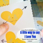 A Little Way To Say I Love You!