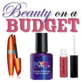 Beauty on a budget tips and tricks.