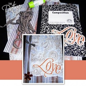 DIY couples love journal.