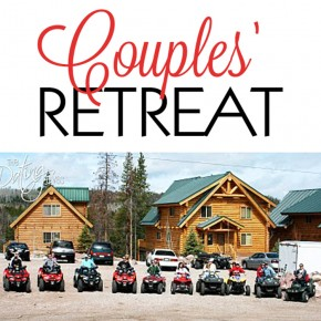 Couples Retreat at Bear River Lodge.