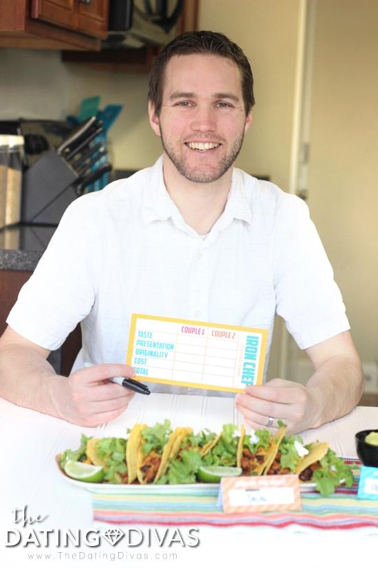 Iron Chef Judging Card