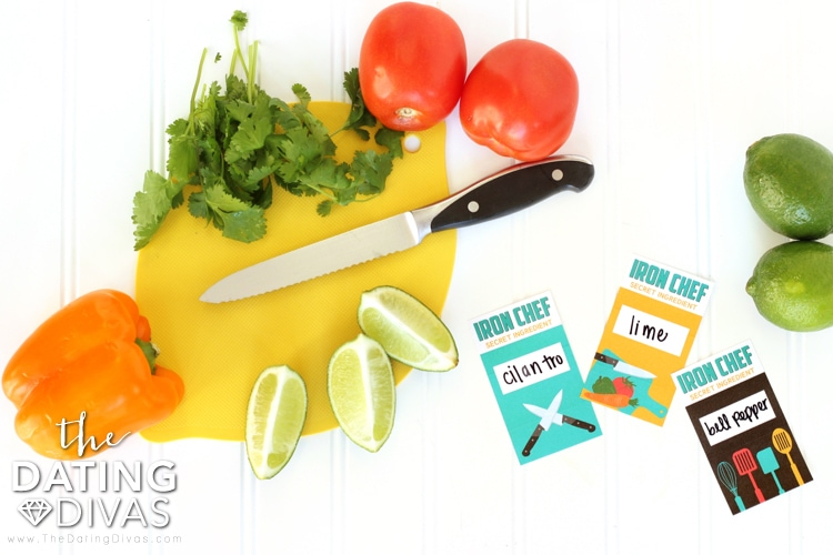 Iron Chef Secret Ingredients