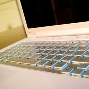 A laptop surprise!
