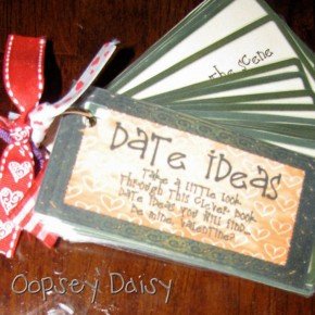 Oopsey Daisey blog DIY coupon book.