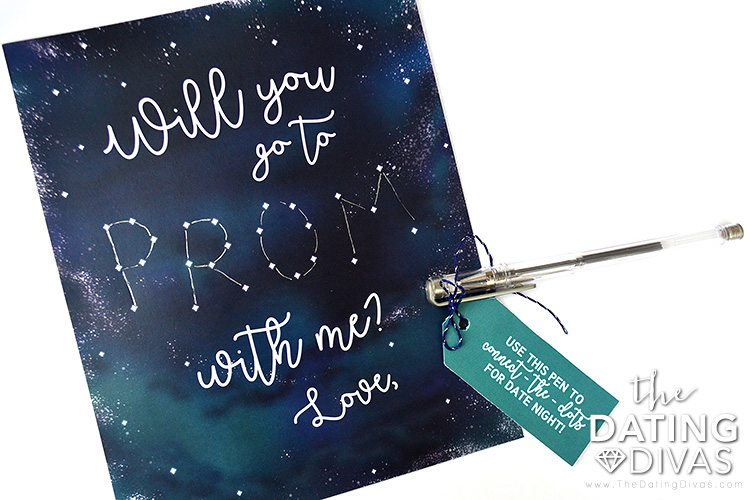 Interactive Patio Prom Date Invitation
