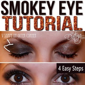A smokey eye tutorial perfect for date night.
