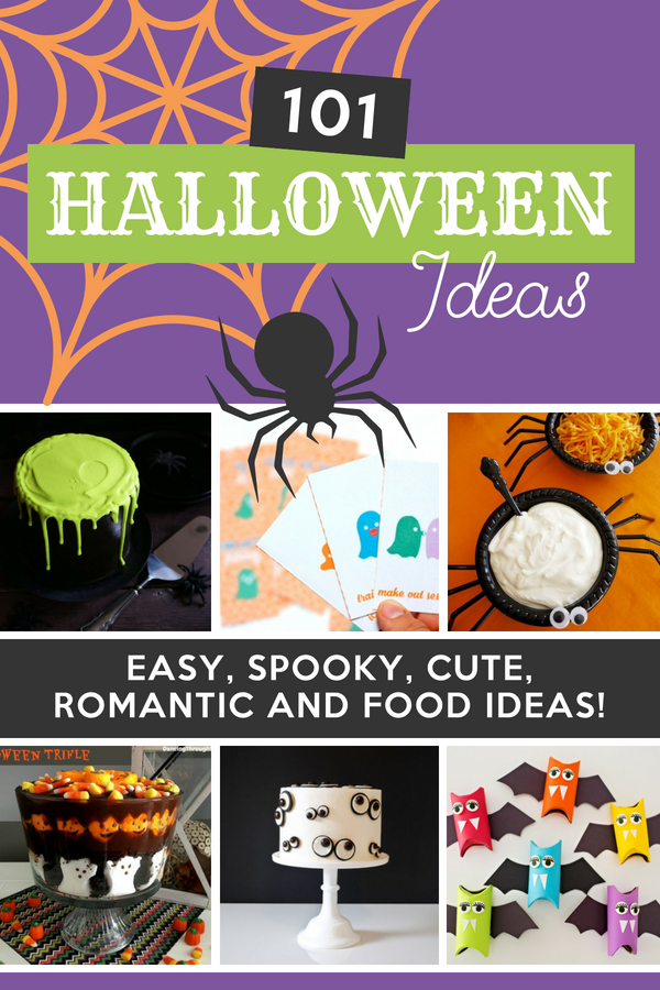 I love Halloween! These easy Halloween ideas are perfect - I love 61! Everything you could possibly need from Halloween decorations to food and treats! #HalloweenIdeas #EasyHalloweenIdeas #DatingDivas #HalloweenFoods #HalloweenDecorations