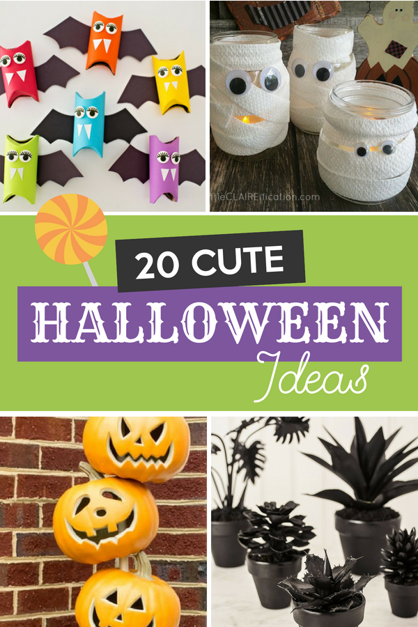 20 Cute Halloween Ideas