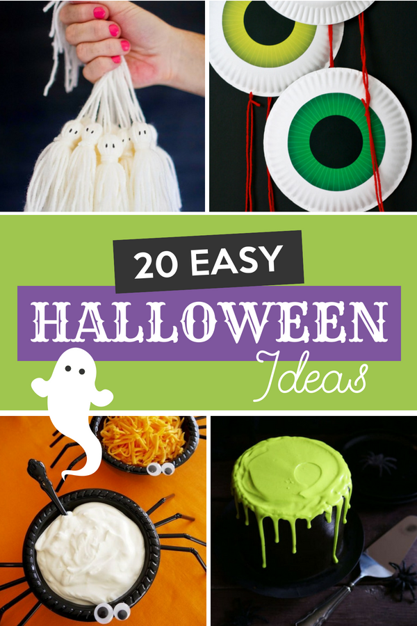 20 Easy Halloween Ideas