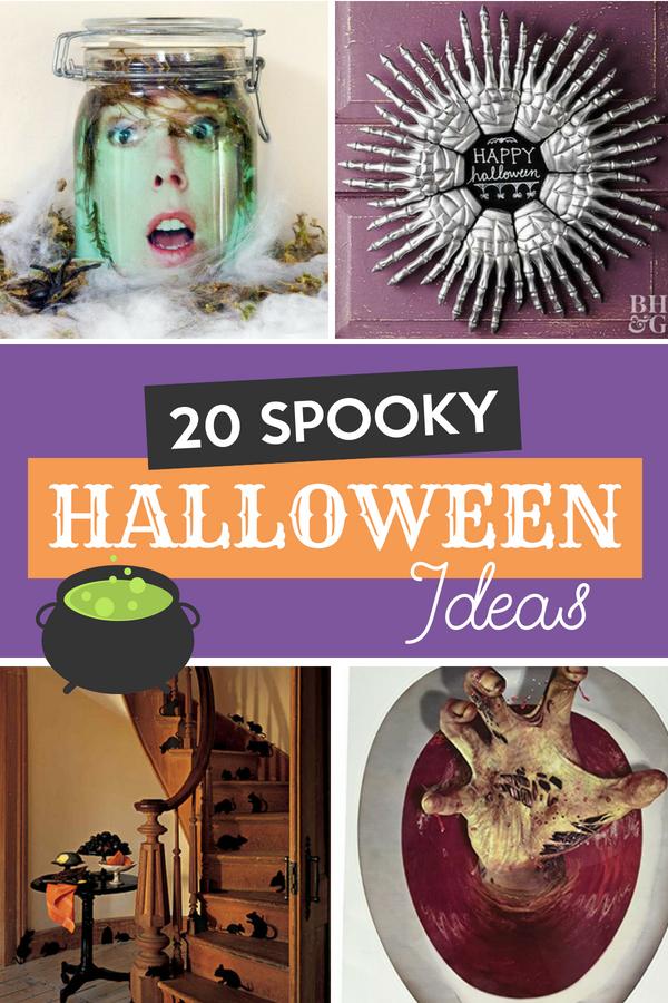 20 Spooky Halloween Ideas