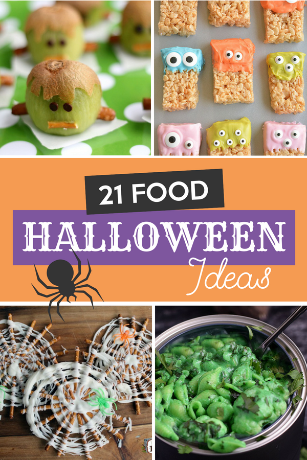 21 Food Halloween Ideas