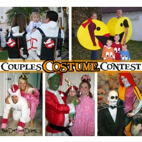 Couples Halloween costume contest and giveaway.