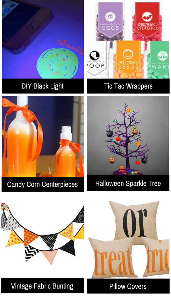Cute and easy Halloween decor ideas.