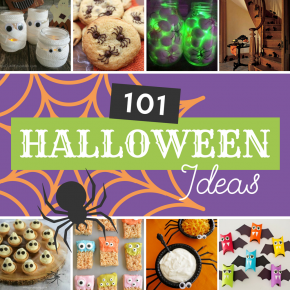 101 Halloween Ideas that are quick and easy.