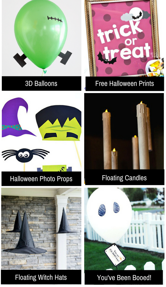Halloween ideas that are quick and easy.