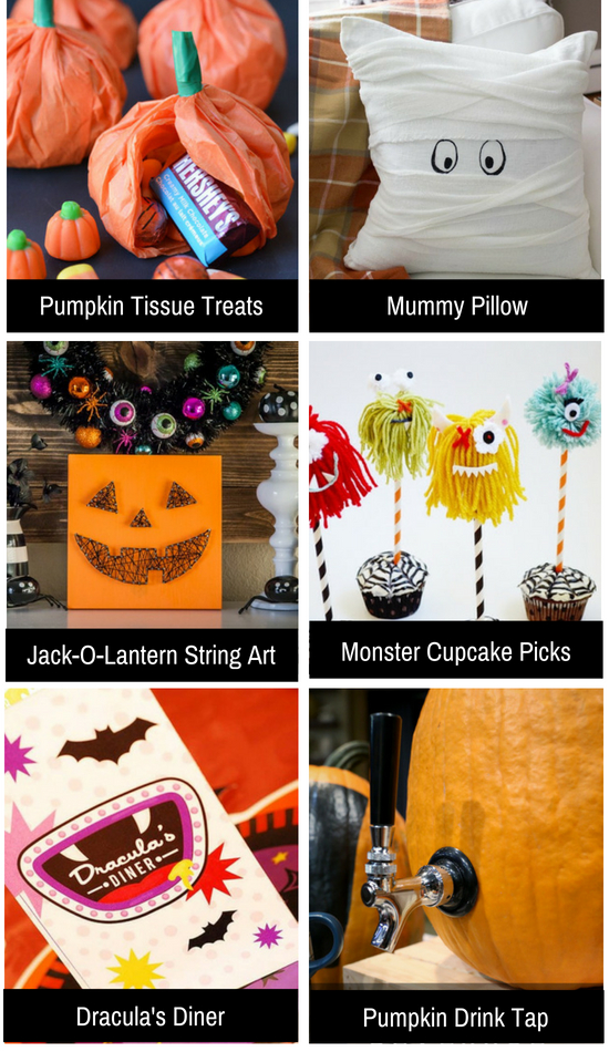 Halloween ideas to make your home cute.