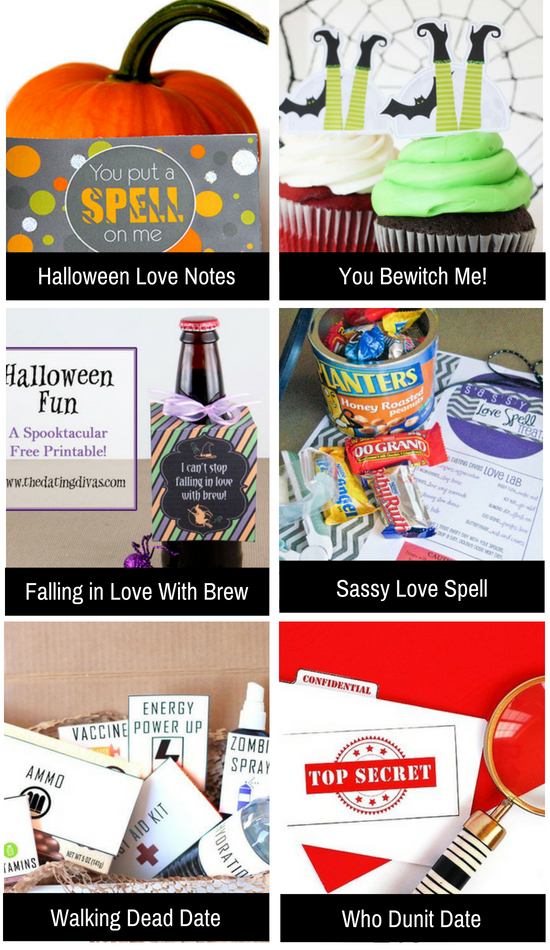 Halloween ideas to get the romance flowing.