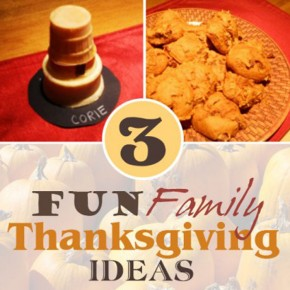 November Family Fun Ideas