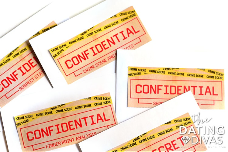 Take your confidential envelopes and start solving the CSI Love Edition crime.