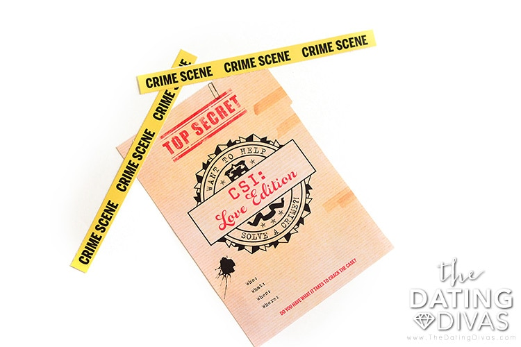Invite your sweetie to a CSI date night.