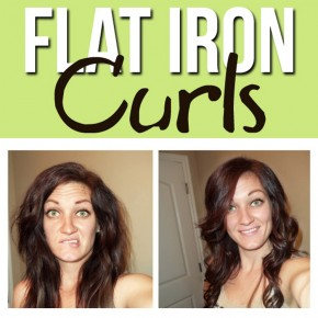 "Flat Iron ""Girls and Curls"" Tutorial"