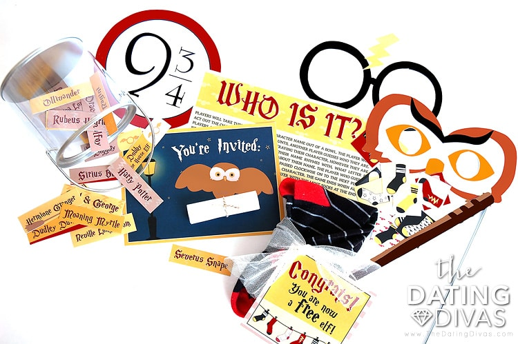 Free printable Harry Potter Date Night!