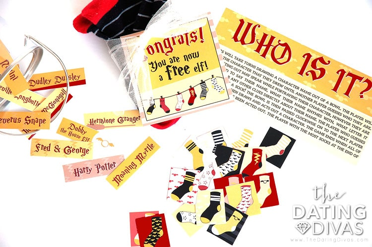 Free Harry Potter Printables!