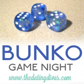 A Bunko group date game night.