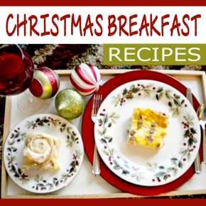 Christmas breakfast recipes that are quick and delicious.