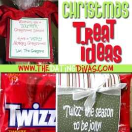 Christmas treat ideas that are funny and easy to put together.