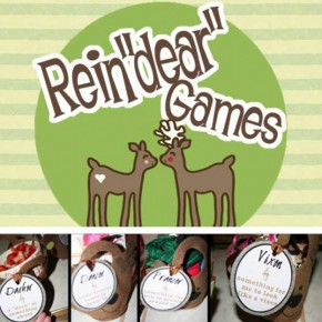 Rein'Dear' Games - an intimate game for two.