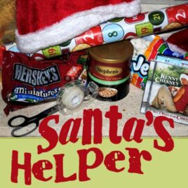 Santa's Helper Mini-Date where you can prep for Christmas while enjoying your spouse's company.
